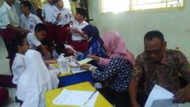 Pemeriksaan Golongan Darah di SD Negeri Ungaran