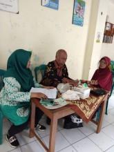 Skrining Kesehatan Lansia di RW 7 Kelurahan Terban